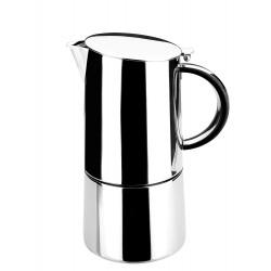 Cafetera inox Moka Lacor 62054