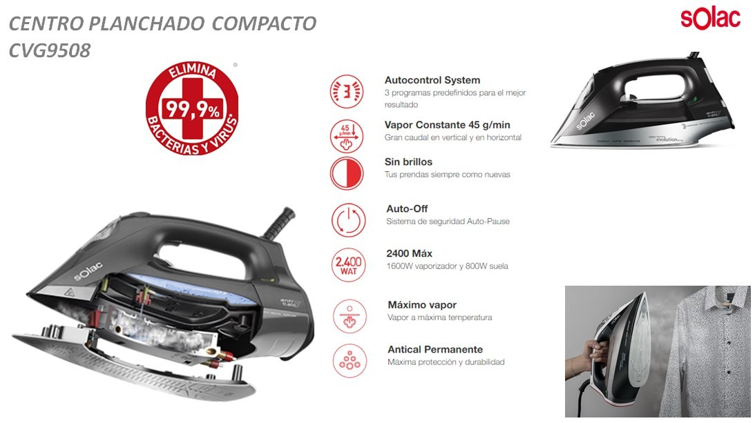 Centro Planchado CVG9508